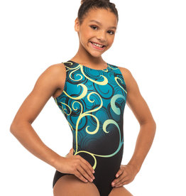 MOTIONWEAR VELOCITY GYM LEOTARD (1142)
