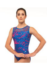 MOTIONWEAR 1143-SIGNATURE MESH TOP LEO