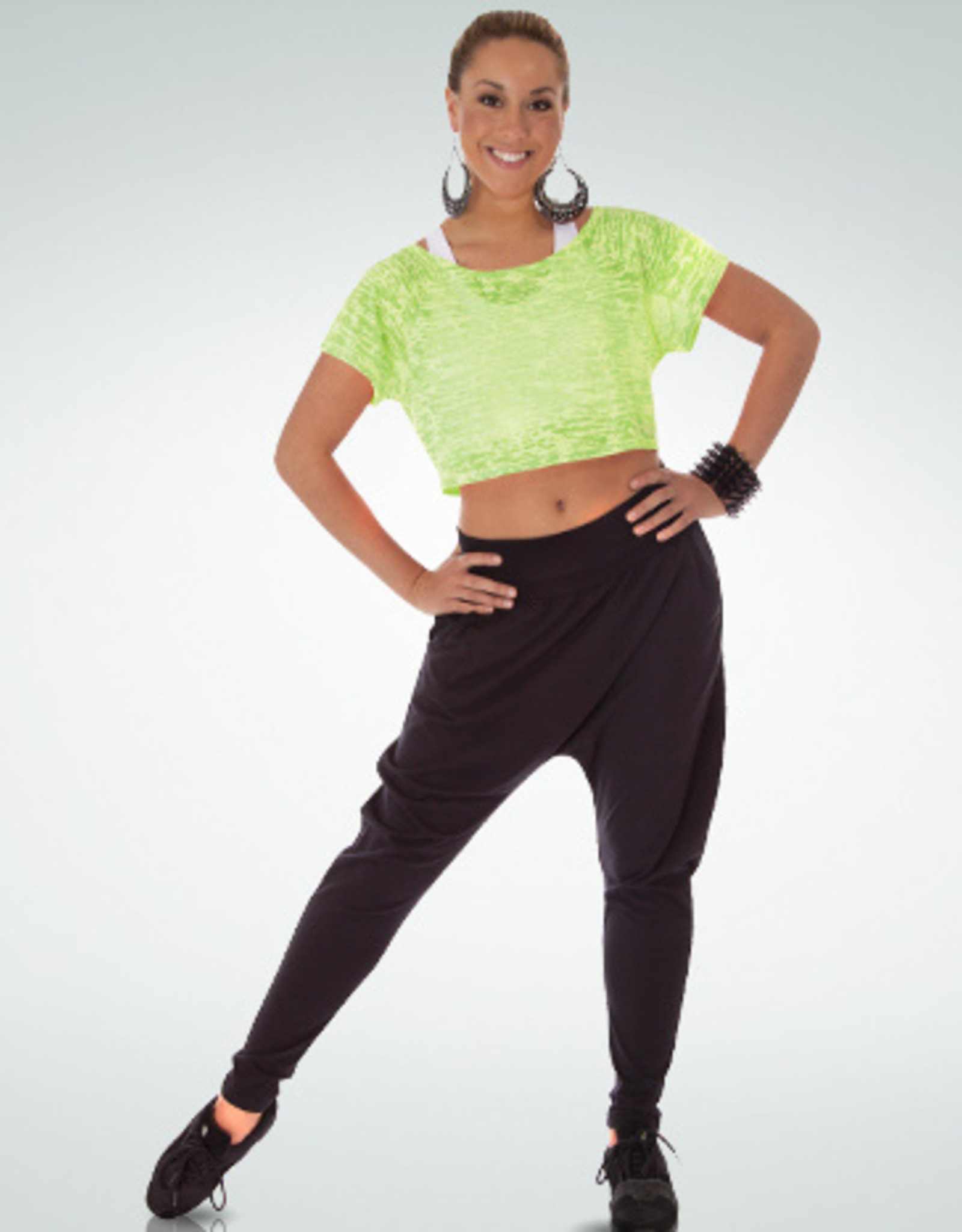 BODY WRAPPERS HAREM PANTS (7290)