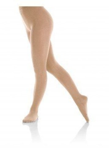 MONDOR NATURAL SATINY FOOTED TIGHT (3371)