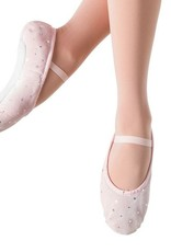 BLOCH SPARKLE BUNNY HOP CHAUSSON EN VELOURS (SO225GV)