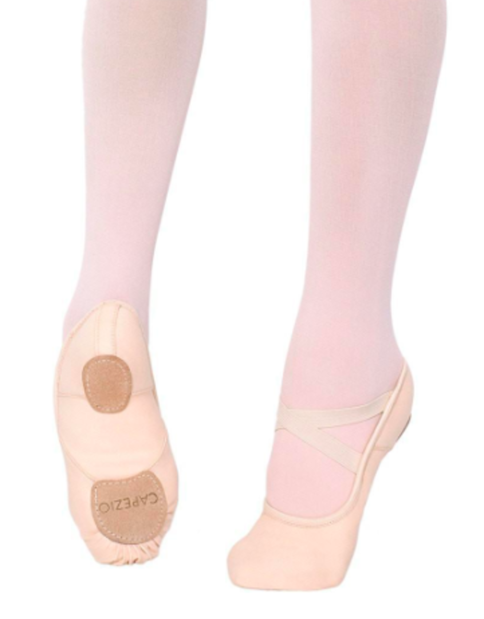 CAPEZIO HANAMI SPLIT SOLE CANVAS BALLET SLIPPERS (2037W)