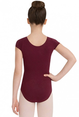 CAPEZIO YOUTH CLASSIC COTTON SHORT SLEEVE LEOTARD (CC400C)