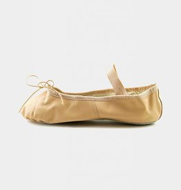 CAPEZIO TEKNIK LEATHER CHILD BALLET SLIPPERS (200C)