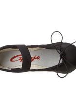 CAPEZIO TEKNIK LEATHER CHILD BALLET SLIPPERS (200C)