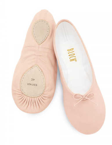 BLOCH PROLITE ll STREAMLINE CANVAS BALLET SLIPPERS (SO216)