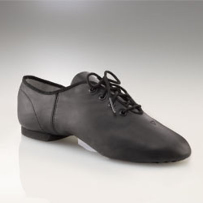 CAPEZIO E-SERIES LEATHER OXFORD JAZZ SHOES (EJ1C)