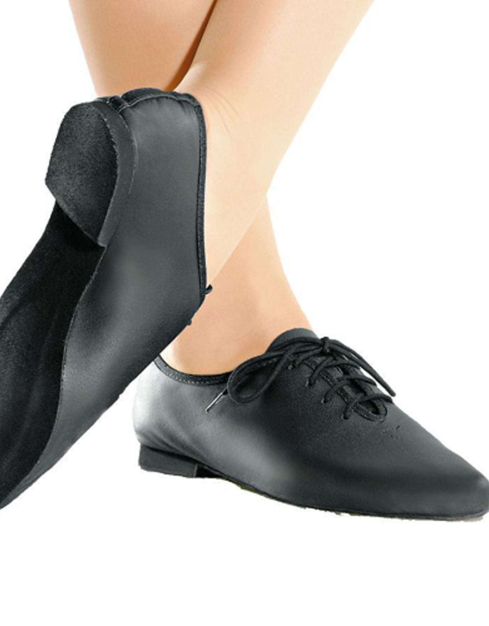 SO DANCA JEAN - LACE UP LEATHER JAZZ SHOES WITH FULL SUEDE SOLE (JZ-05)