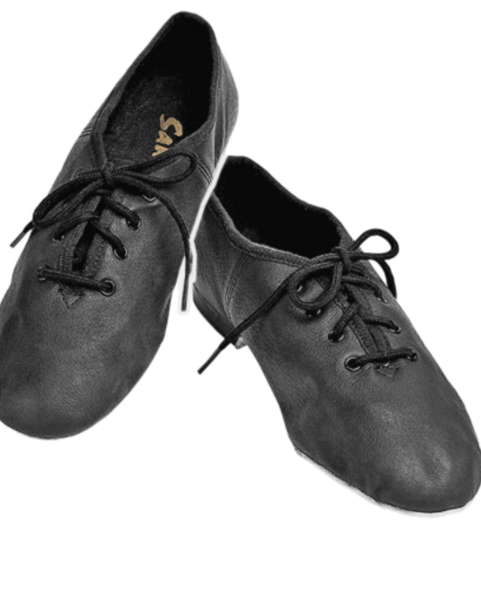 SANSHA CARROUSEL MICROFIBER LACE UP JAZZ SHOES (JS16)