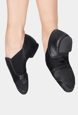 CAPEZIO E-SERIES LEATHER SLIP-ON JAZZ SHOES (EJ2A)