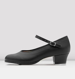 "BLOCH SHOWTAPPER 1 1/4"" CUBAN HEEL LEATHER TAP SHOES (SO323)"
