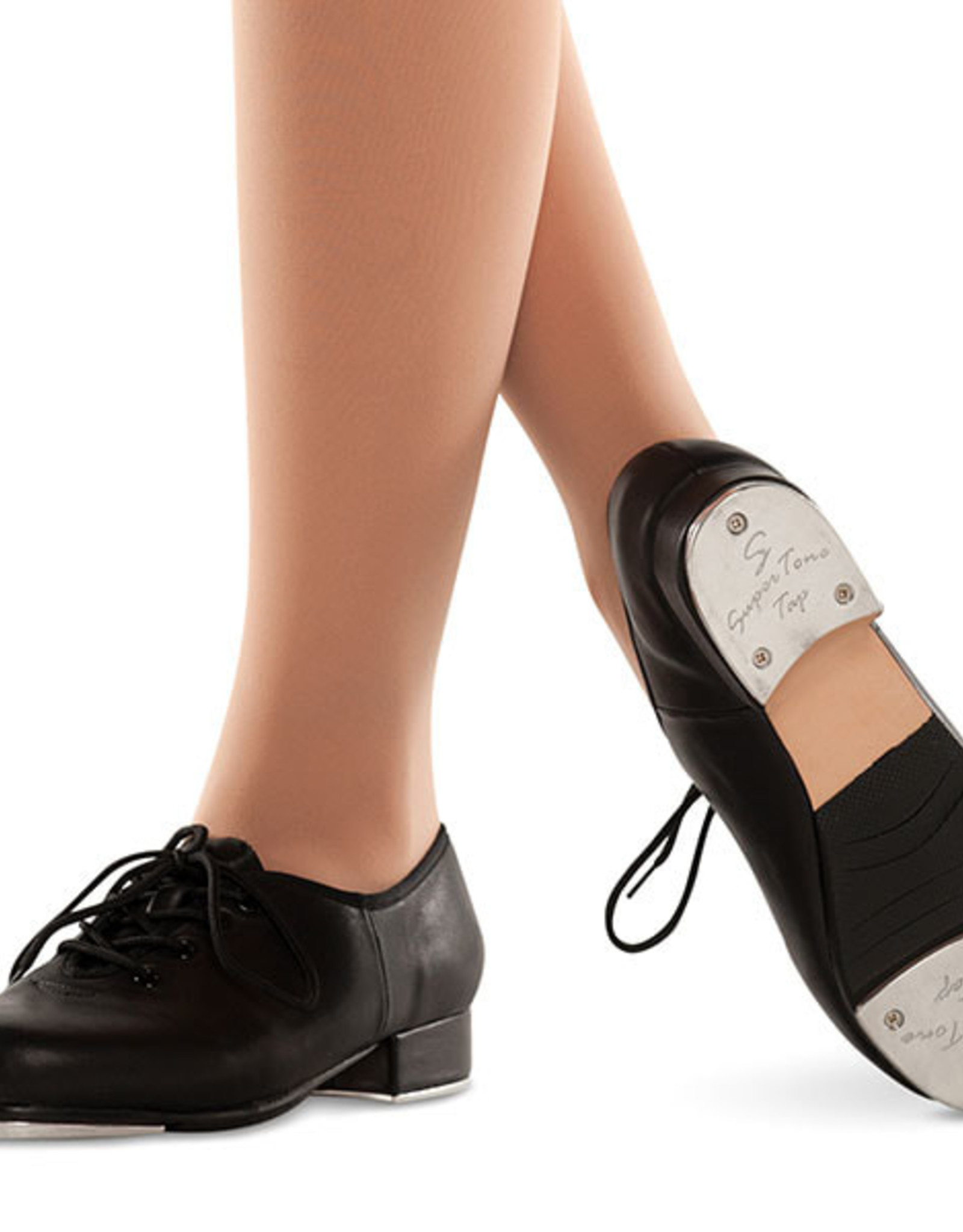 DANZ N MOTION SLAMMER LEATHER TAP SHOES (3333)