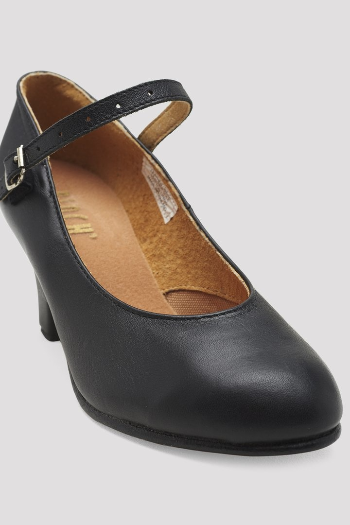 """BLOCH CABARET LEATHER 2.5"""" CHARACTER SHOES (SO306L)"""