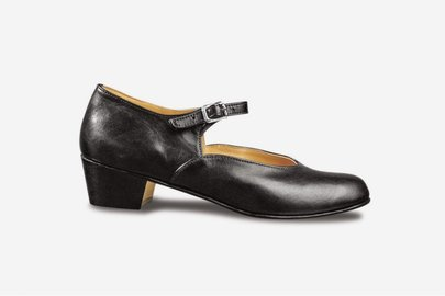 SANSHA VOLGA LEATHER CHARACTER SHOES (CL02)