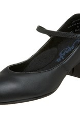 CAPEZIO JR. FOOTLIGHT LEATHER CHARACTER SHOES (551)
