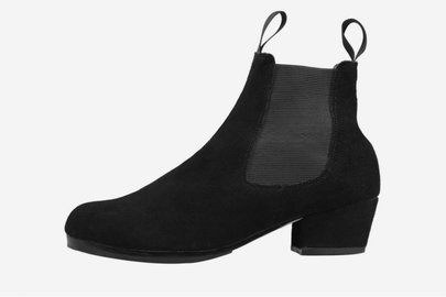 SANSHA OVIEDO LEATHER FLAMENCO BOOTS (FL11)