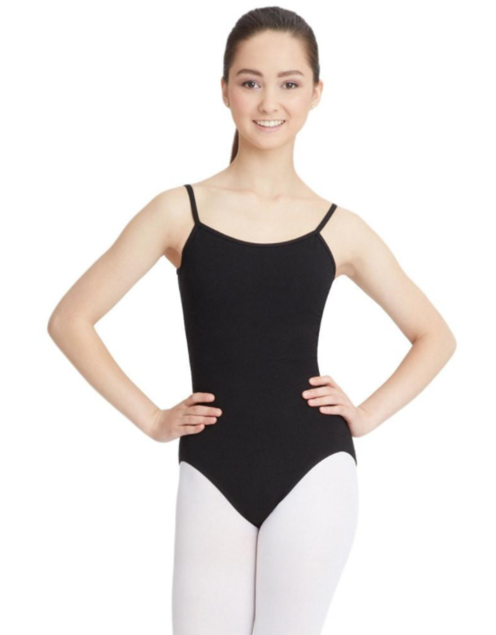 CAPEZIO CLASSIC ADJUSTABLE STRAP CAMISOLE LEOTARD (CC100)