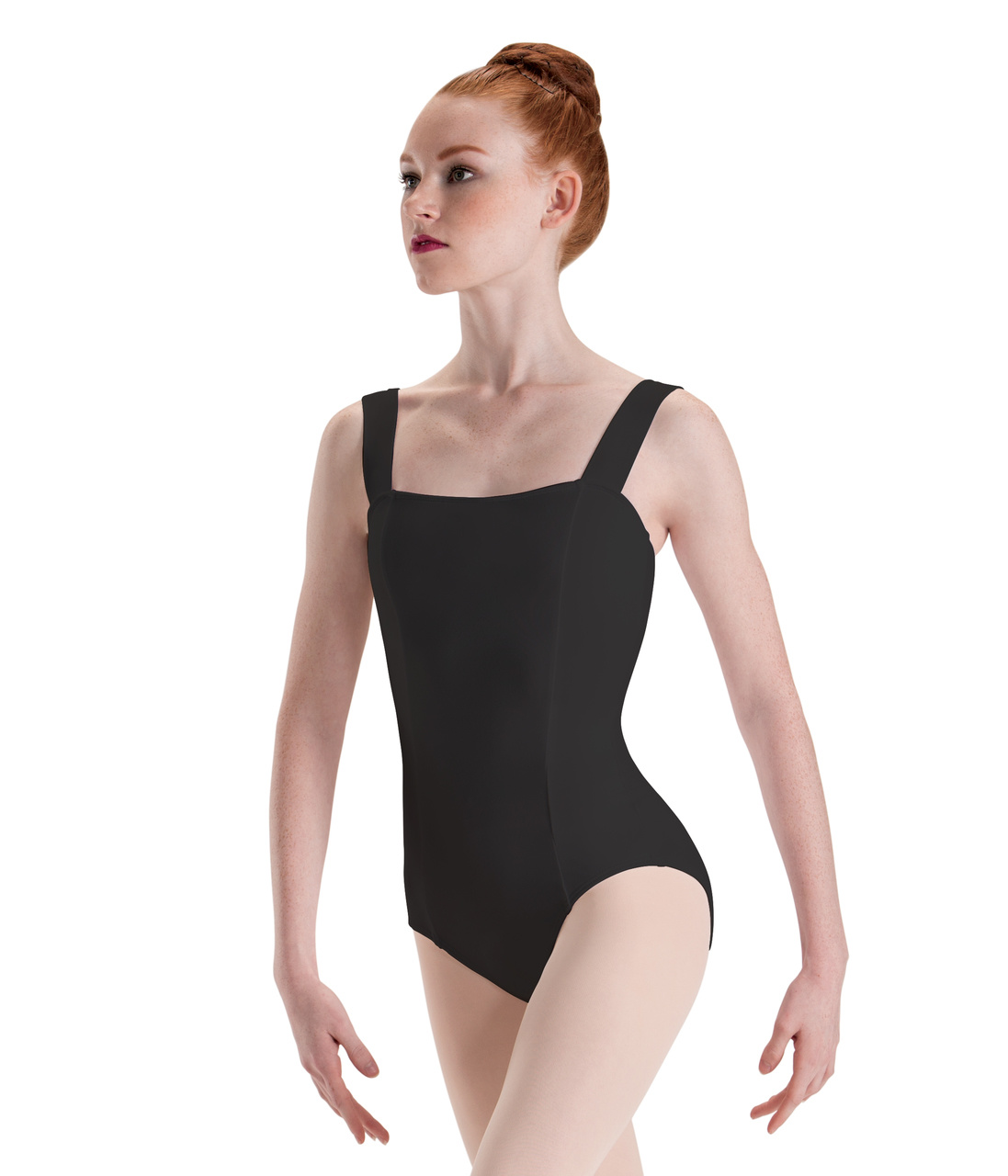 MOTIONWEAR WIDE STRAP PRINCESS CAMISOLE LEOTARD (2643C)