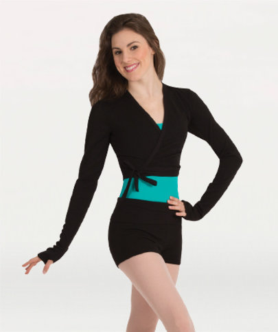 BODY WRAPPERS V-NECK PULLOVER (P970)