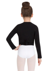 CAPEZIO CLASSIC LONG SLEEVE CHILD WRAP TOP (CC850C)
