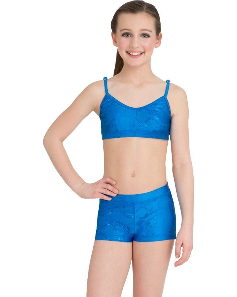 CAPEZIO ADJUSTABLE CHILD GYMNASTICS BRA TOP (10020BC)