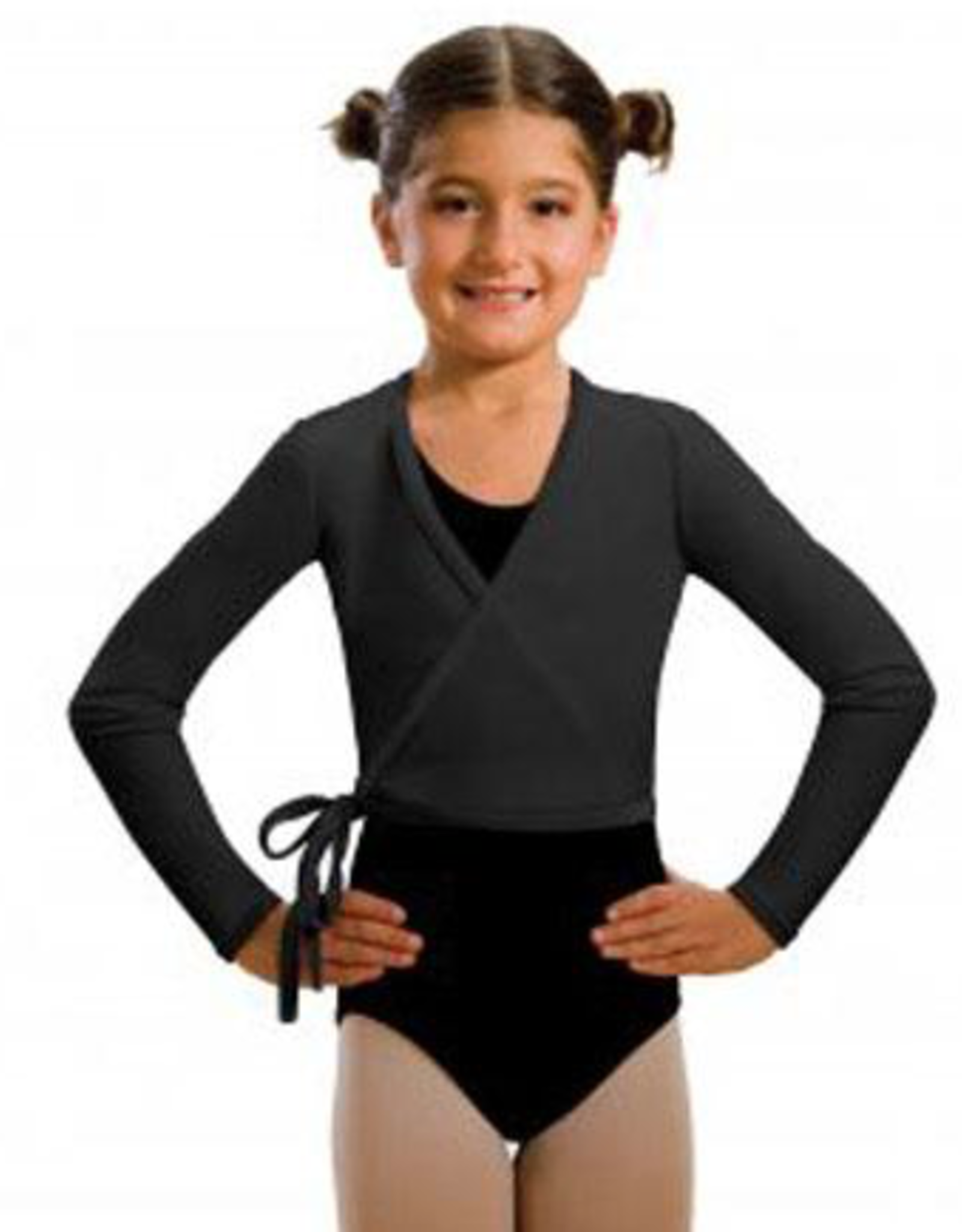 MOTIONWEAR CHILD DANCE WRAP SWEATER (3109C)