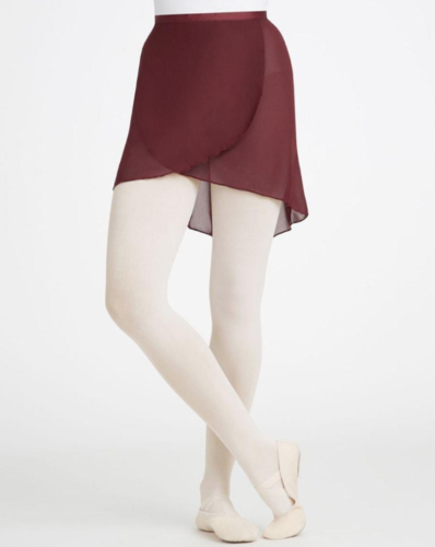 CAPEZIO ADULT GEORGETTE WRAP SKIRT (N272)