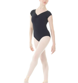 MONDOR MATRIX CAP SLEEVE LEOTARD (3506)