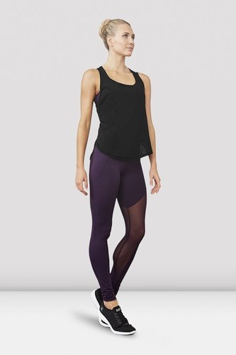 MIRELLA MESH PANEL STIRRUP LEGGING (FP5146)