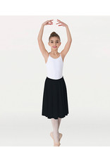 BODY WRAPPERS MATTE FINISH ABOVE-THE-KNEE CIRCLE SKIRT (411)