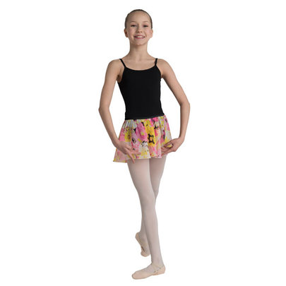 DANSHUZ CHILD COLORFUL FLOWER PRINT SKIRT (2622C)