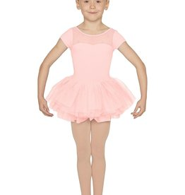 MIRELLA VALENTINE CHILD CAP SLEEVE TUTU LEOTARD (M1076C)