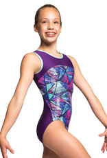 MOTIONWEAR CHILD GYM BINDING RACERBACK LEOTARD (1331)