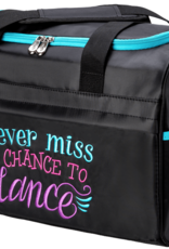 SASSI NEVER MISS A CHANCE TO DANCE DUFFLE BAG (NMC-02)