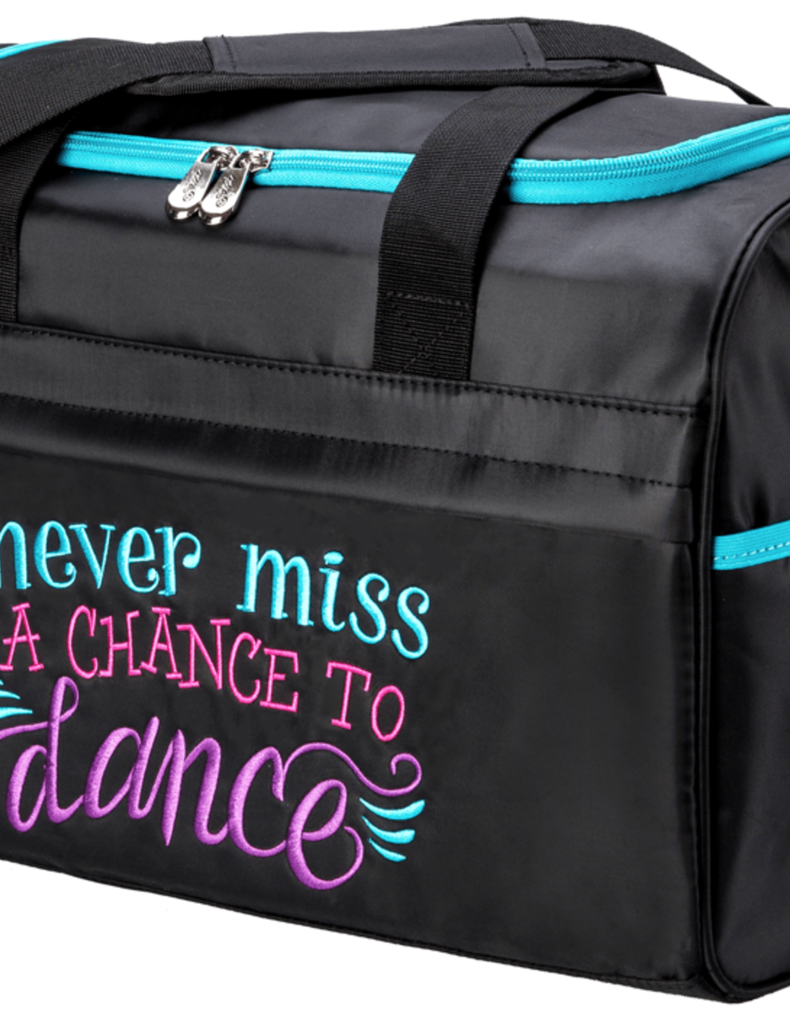 NEVER MISS A CHANCE TO DANCE DUFFLE BAG (NMC-02)