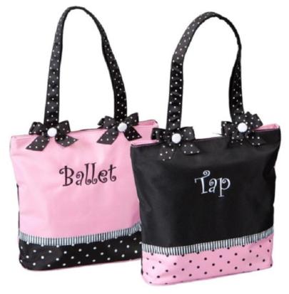 SASSI BALLET/TAP COMBO TOTE BAG (BTC-02)