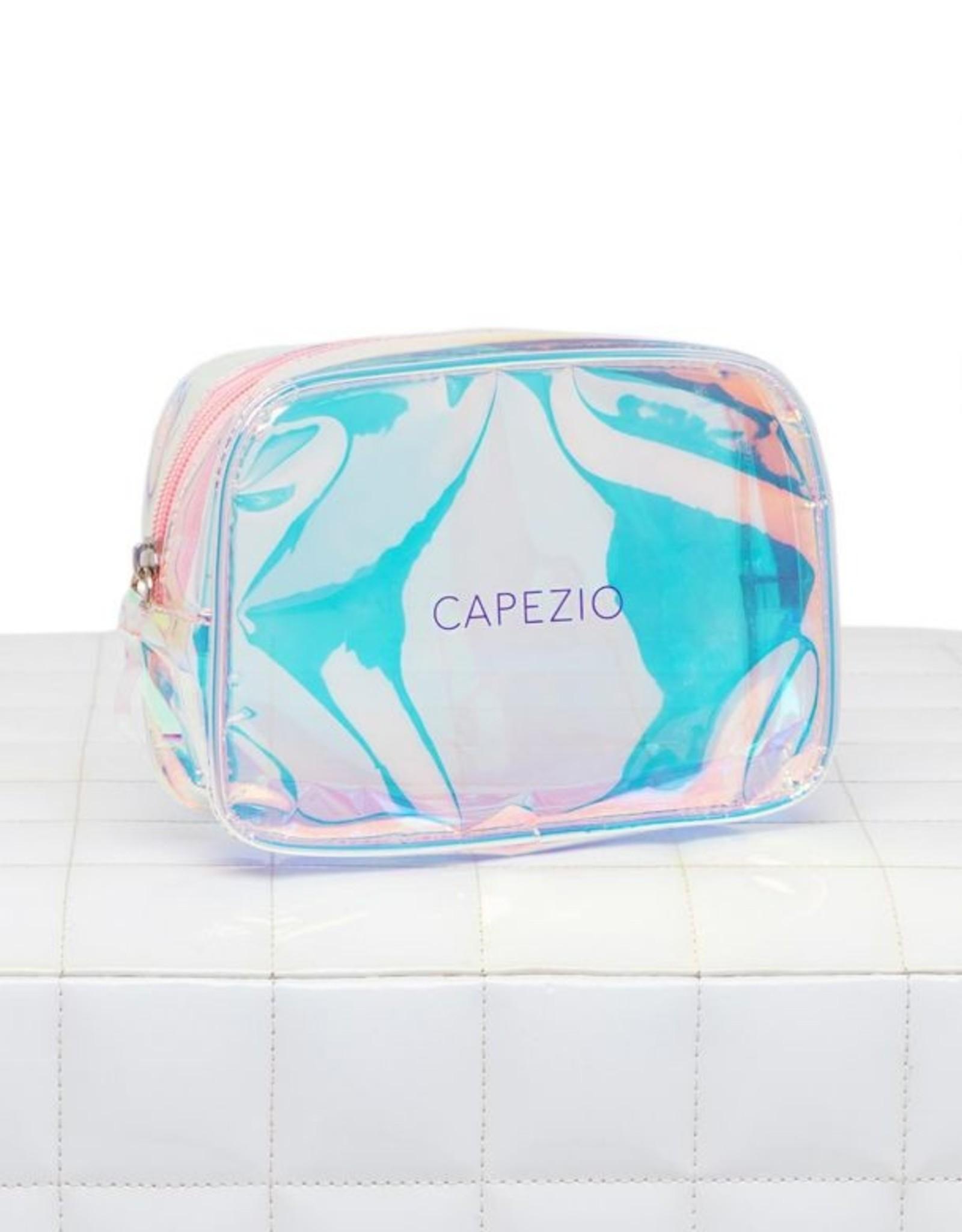 CAPEZIO HOLOGRAPHIC MAKEUP BAG (B226)