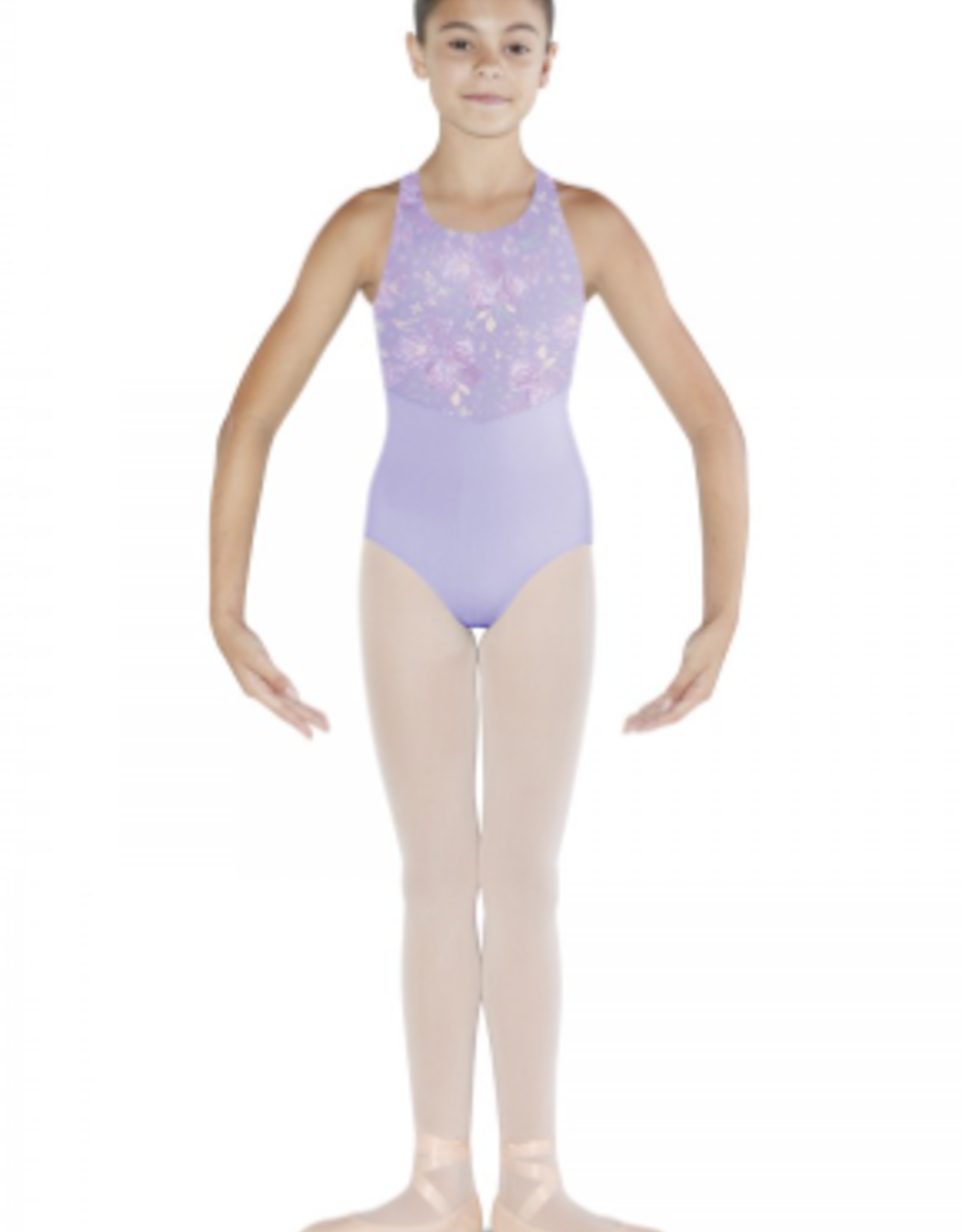 BLOCH BOUQUET BLOOM X-BACK TANK LEOTARD (CL4875)