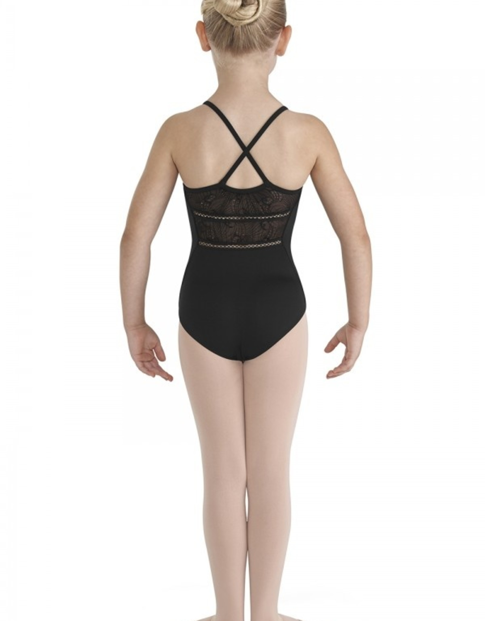 BLOCH VIPULA CAMISOLE STRAP CROSS LEOTARD (CL8690)