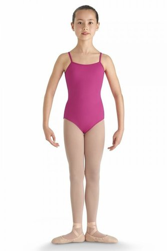 BLOCH KARENE HIGH BACK EMBROIDERED CAMISOLE LEOTARD (CL8640)