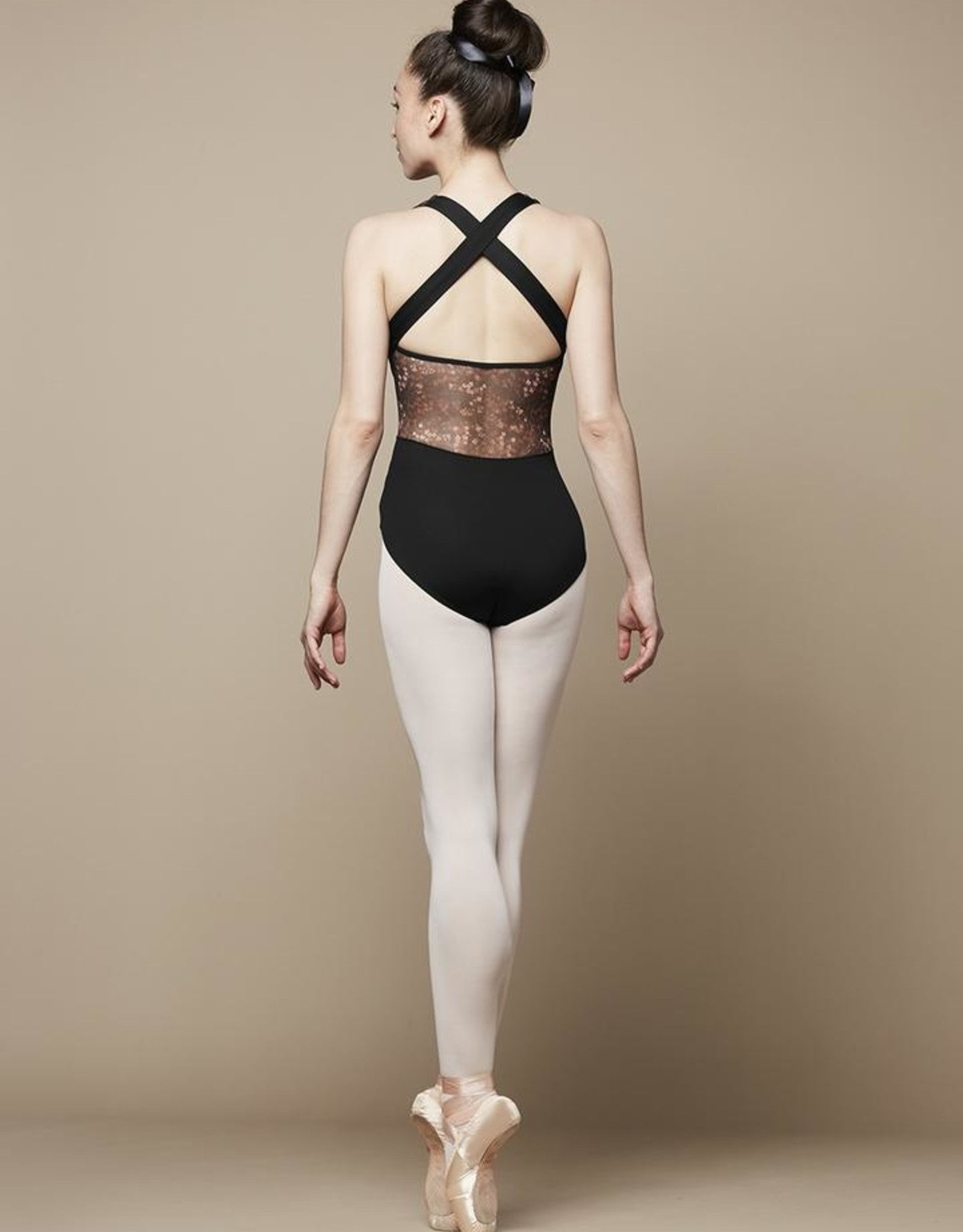 BLOCH AURELIA CHILD MESH X-BACK TANK LEOTARD (TWL5535B)