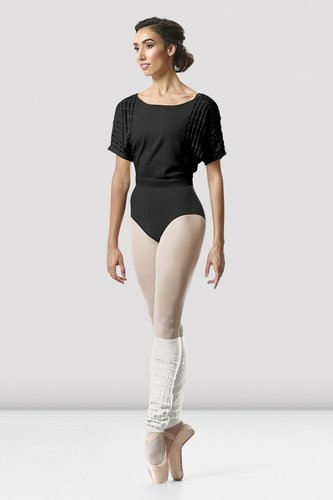 BLOCH TATIANA KNIT WARM-UP TOP (Z5522)