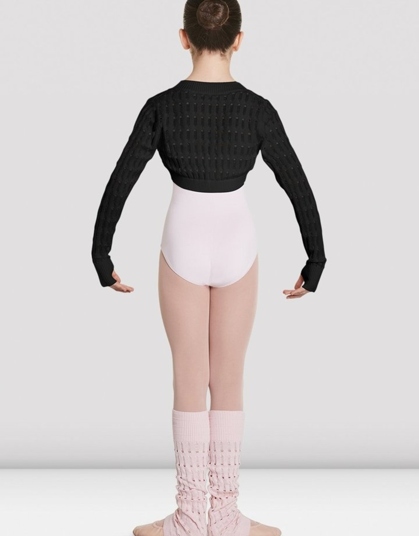 BLOCH ROESIA KNITTED LONG SLEEVE SHRUG (CZ5519)