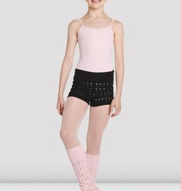 BLOCH NORA KNITTED WARM-UP SHORTS (CR5514)
