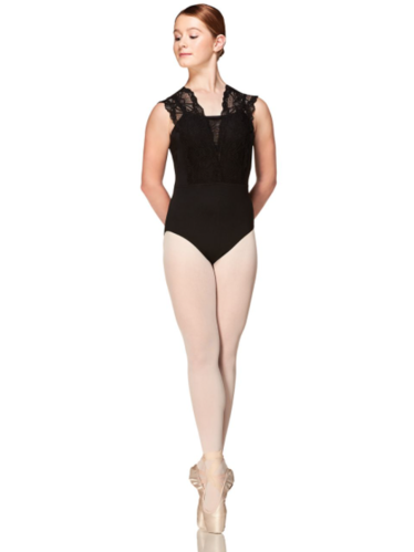 MONDOR SOFT MESH AND STRETCH LACE LEOTARD (3643)