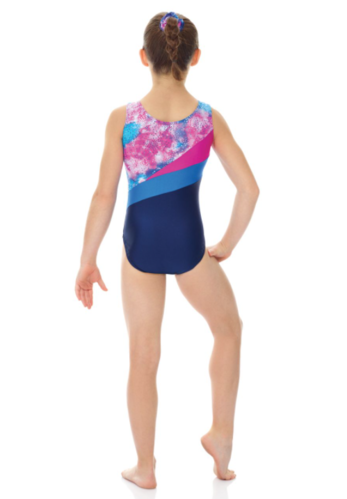 MONDOR GYM PRINTED SLEEVELESS LEOTARD (7862)