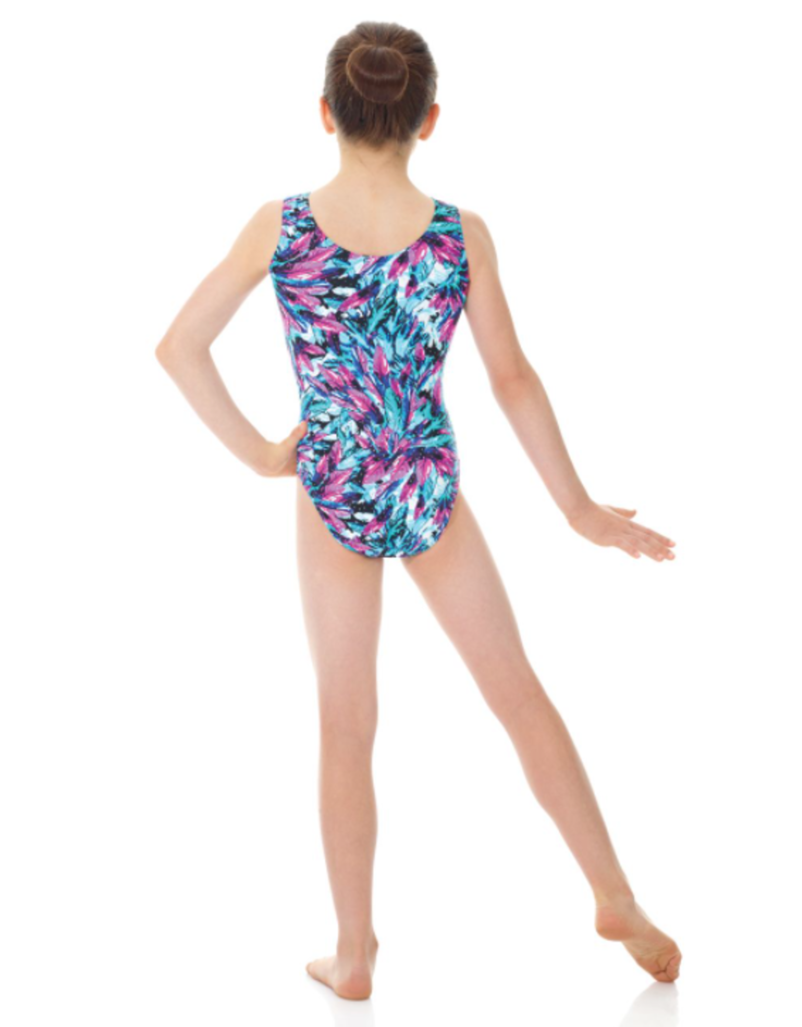 MONDOR SLEEVELESS GYM LEOTARD (7822)