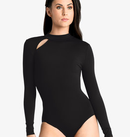 DANSHUZ COLD SHOULDER LEOTARD (19119A)