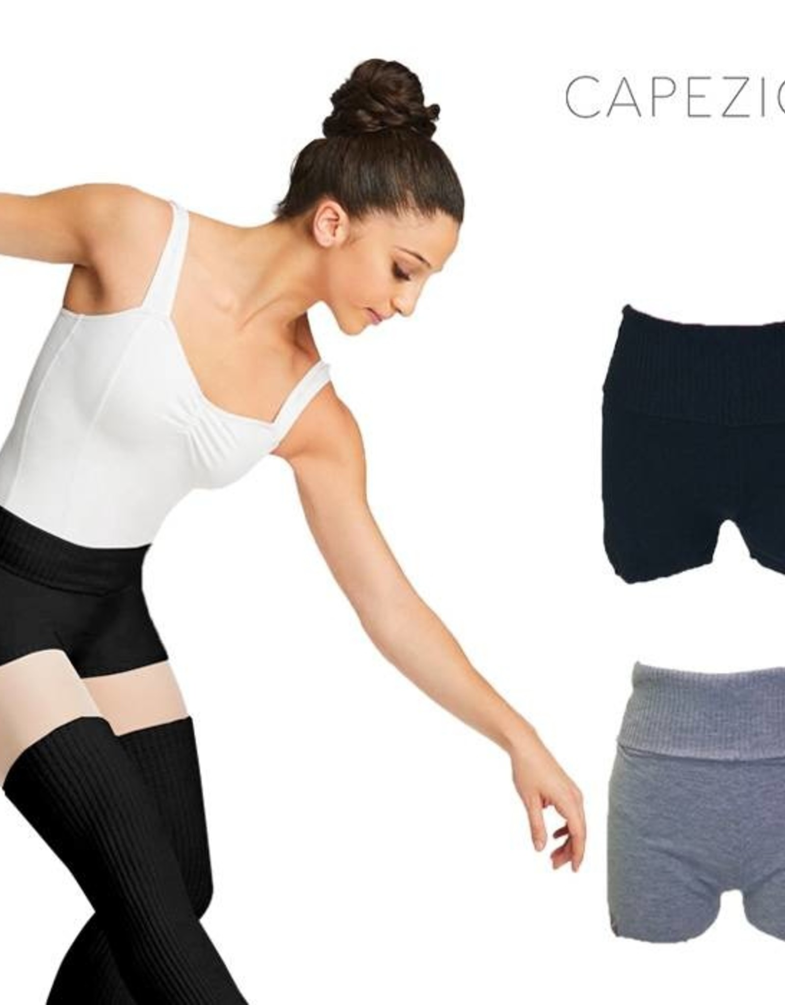 CAPEZIO FOLD-OVER BOYSHORT (CK10950W)
