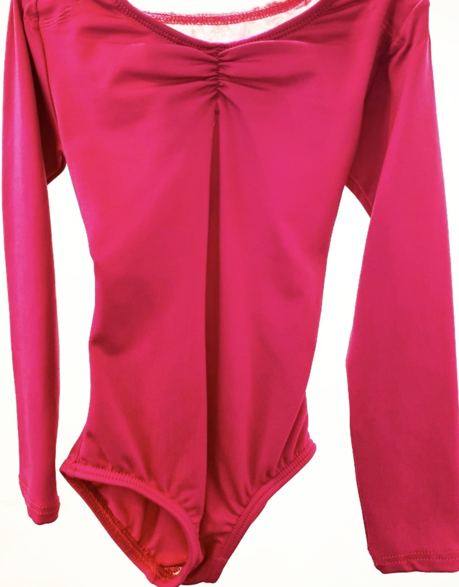 MOTIONWEAR LONG SLEEVE OPEN BACK LEOTARD (2411)